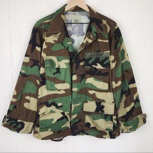 U.S. Army Woodland Camouflage Combat Coat